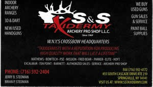 S&S Taxidermy