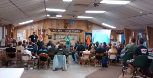 Hunter Safety Class at Allied Sportsmen Club